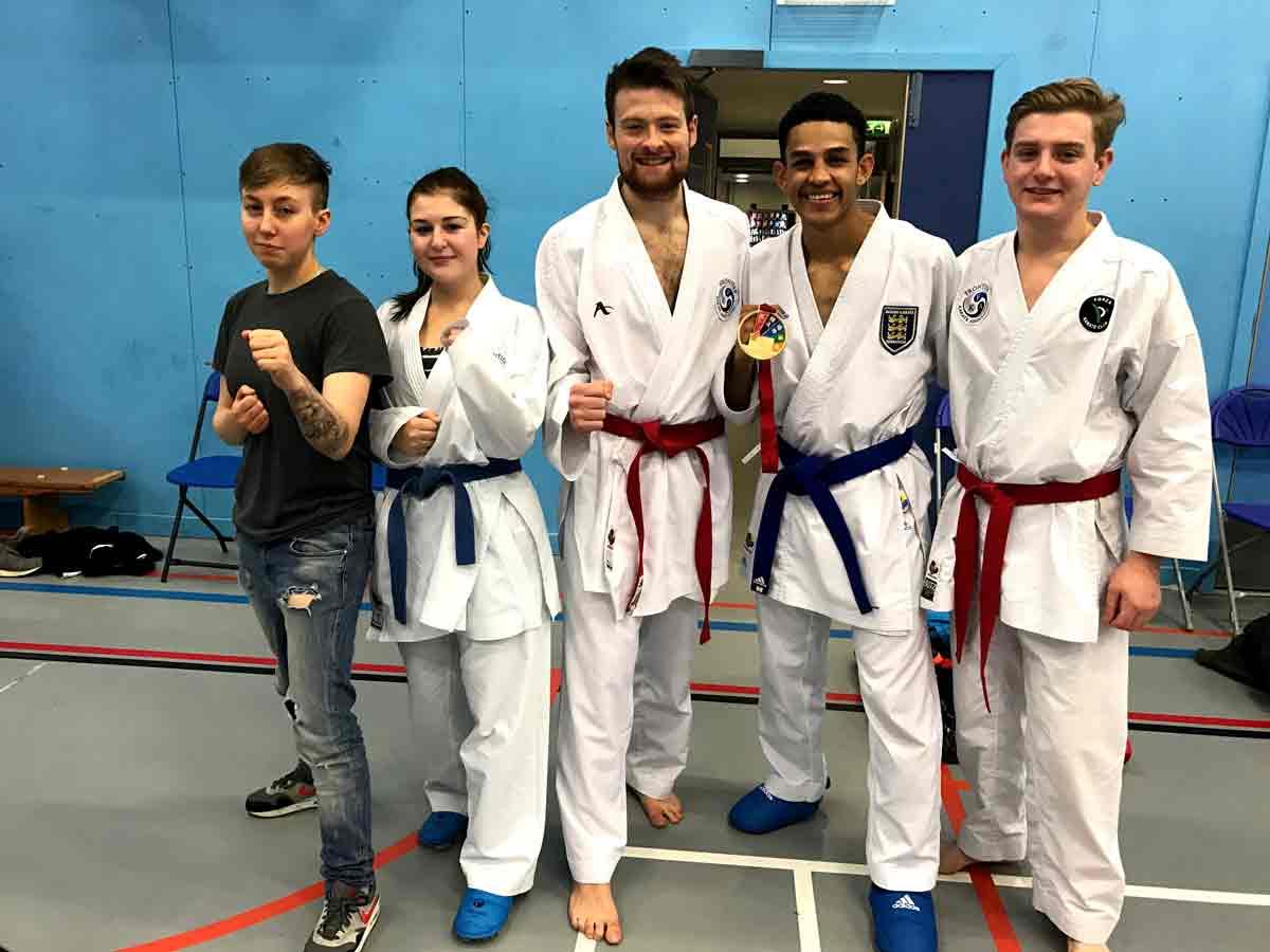 England Karate Team Squad Training