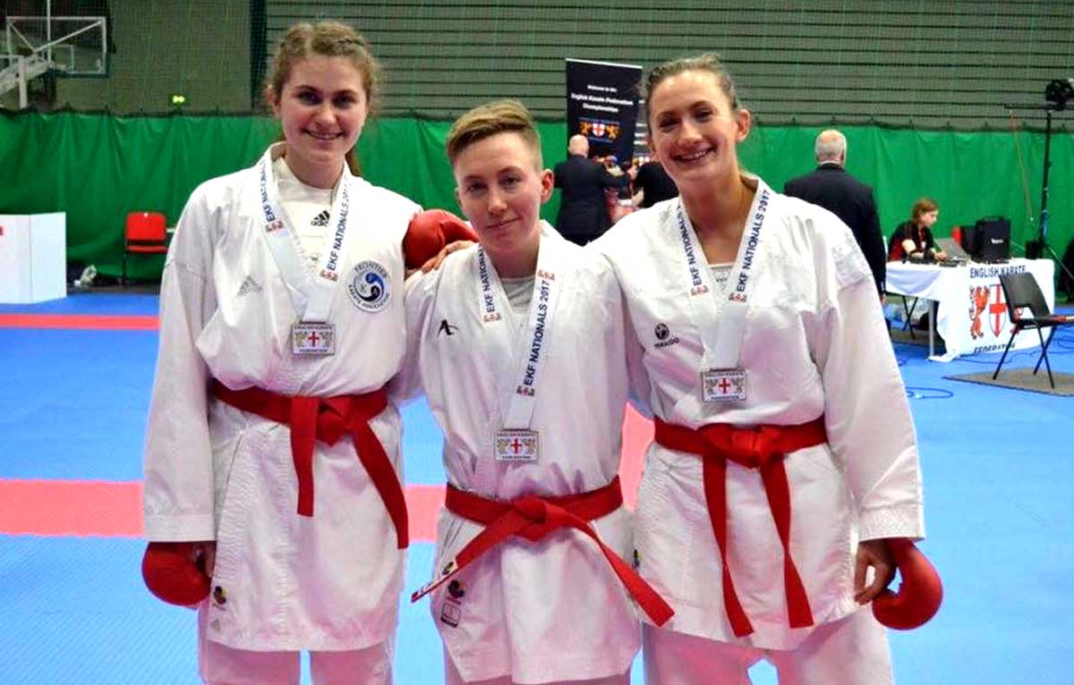 English Women Team Champions! – plus 7th place for Frontier